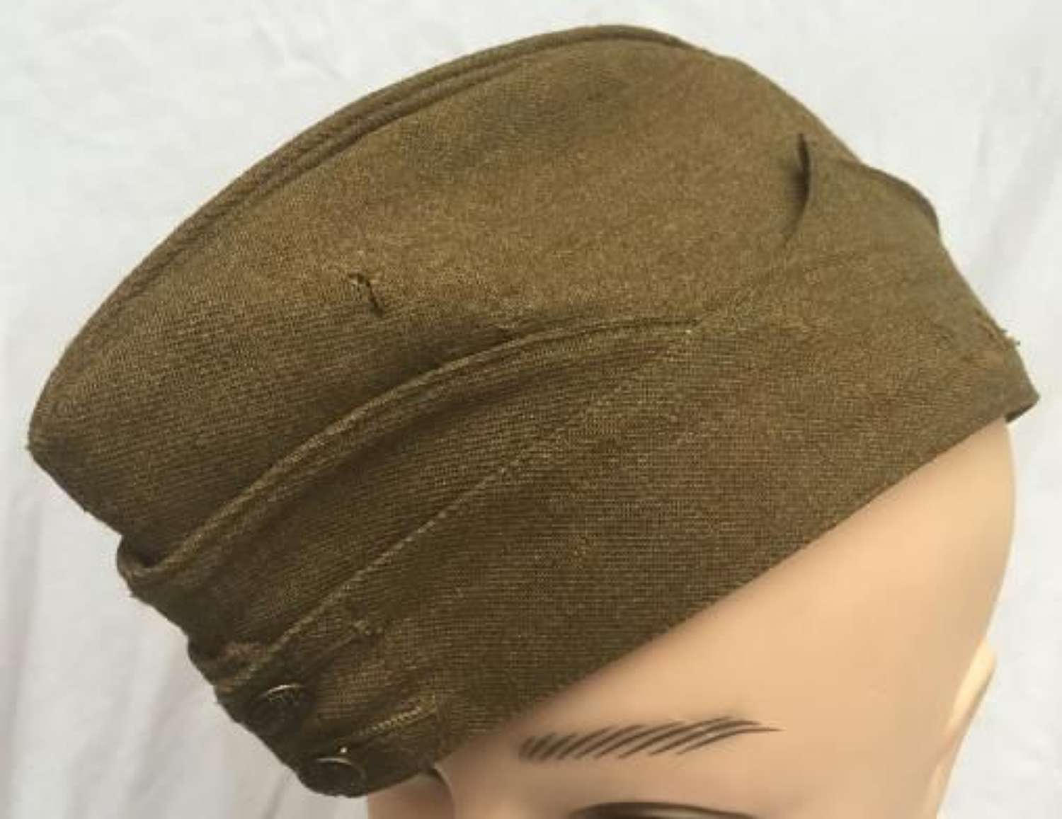 1939 Dated British Army Forage Cap Large Size 7 3/8