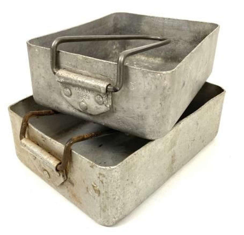 Original 1939 Dated British Army Mess Tins - BEF