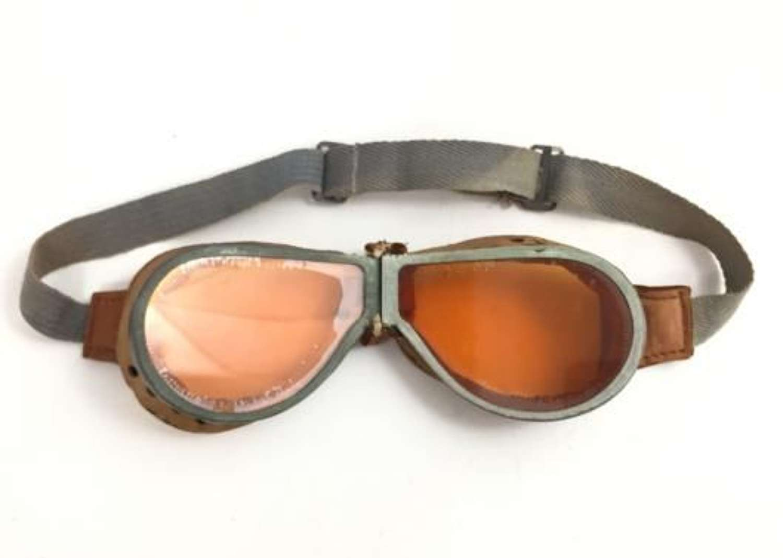 Original British Army MT Goggles - Orange Lense