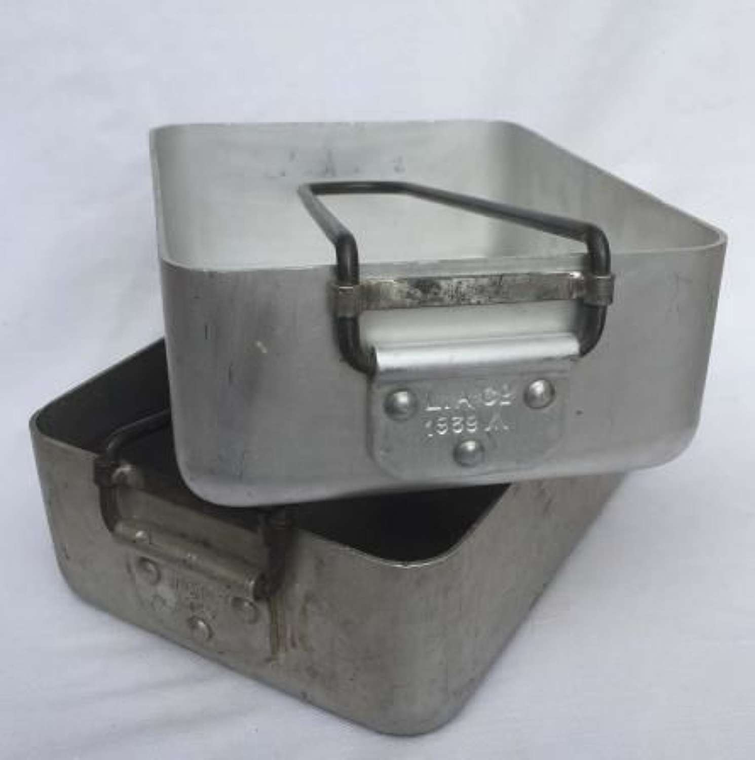 1939 Dated British Army Mess Tins As Used By The BEF