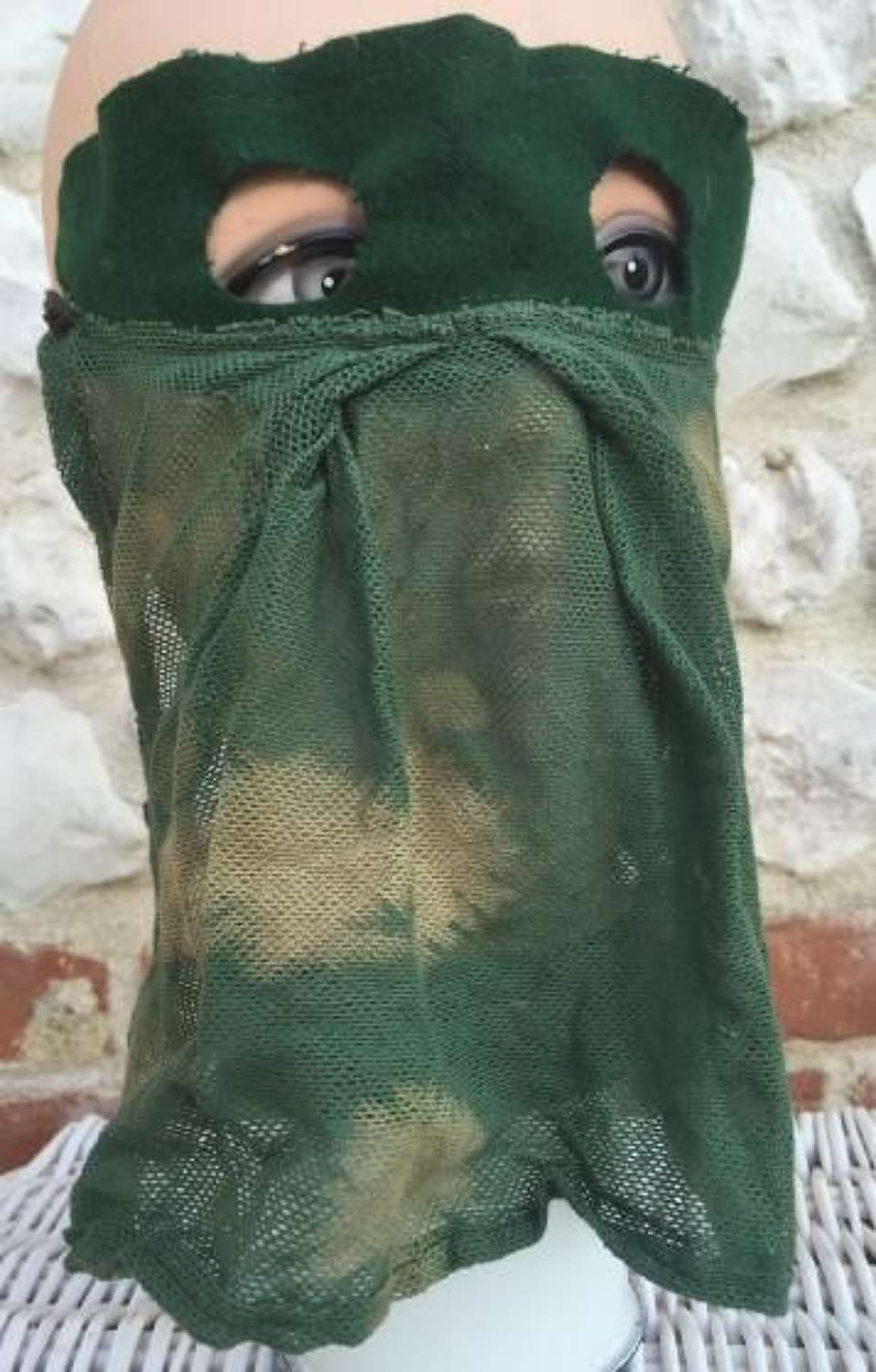 RARE SAS Snipers Camouflaged Face Veil