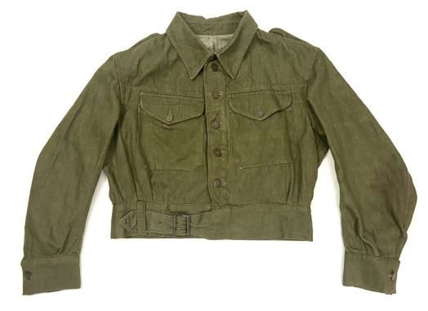Original 1945 Dated British Army Battledress Blouse by 'Laznicka'
