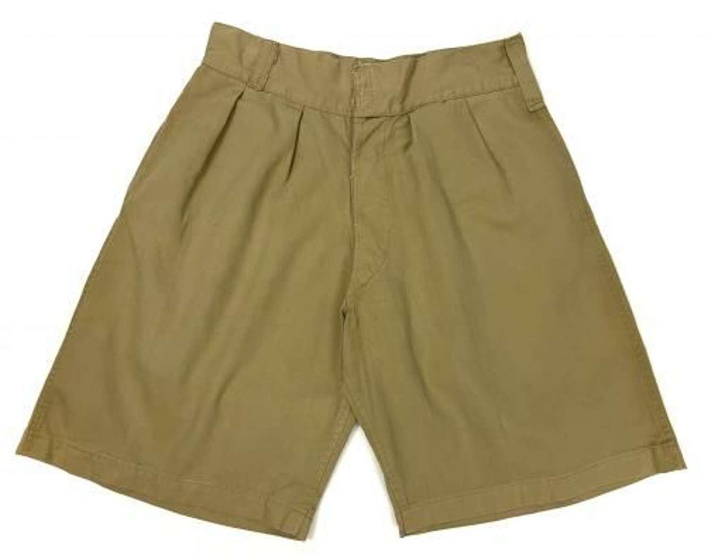 Original 1943 Dated 1941 Pattern British Khaki Drill Shorts