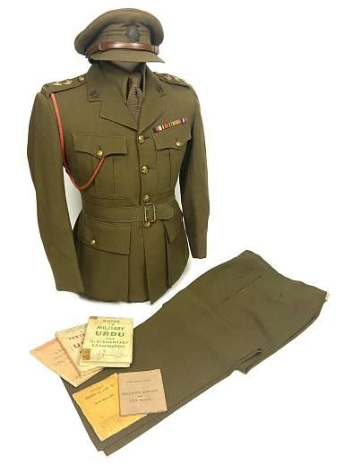 Original Royal Indian Army Service Corps Officers Service Dress Group