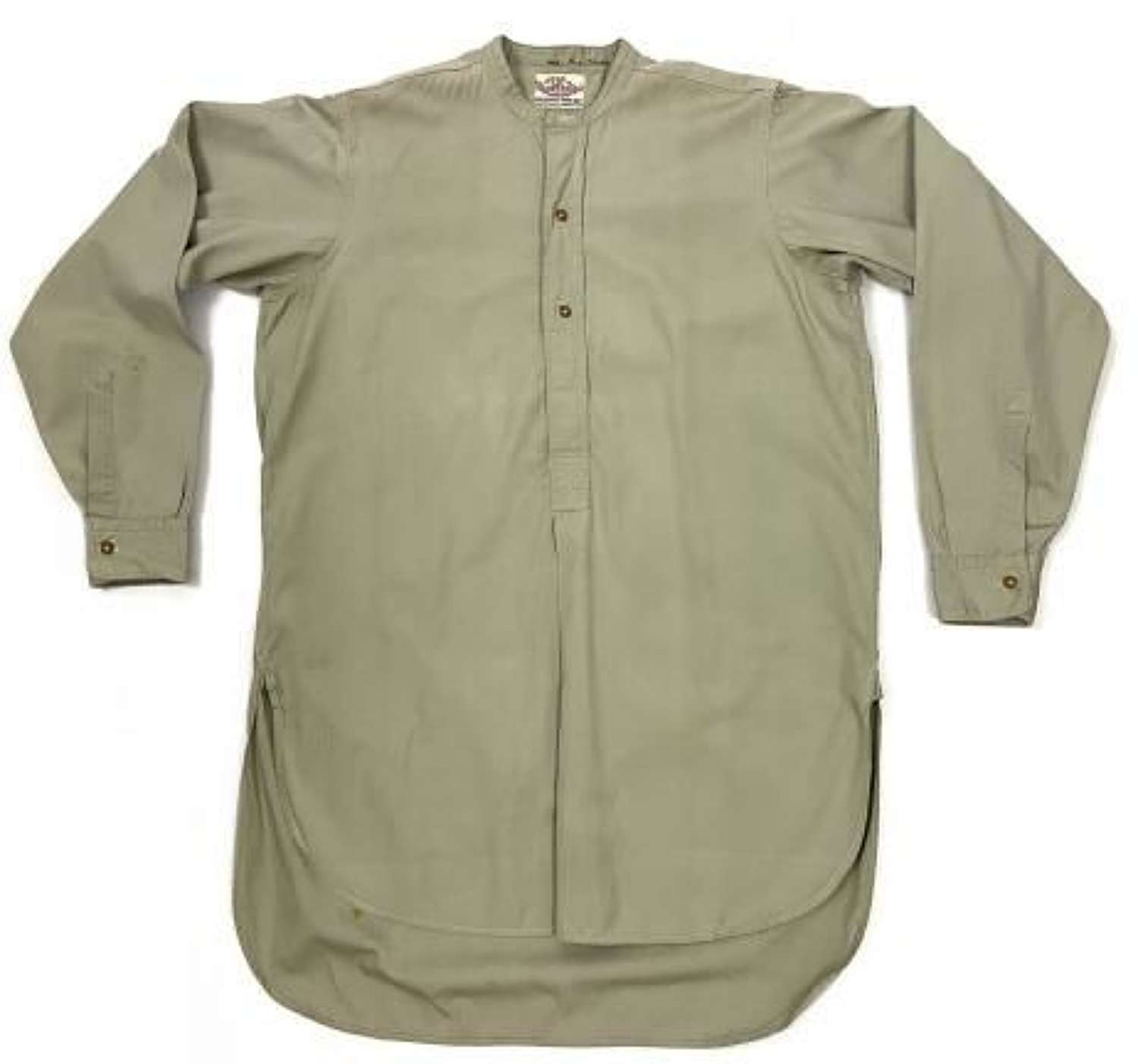 Original WW2 British Army Officers Collarless Shirt by 'Royal England'