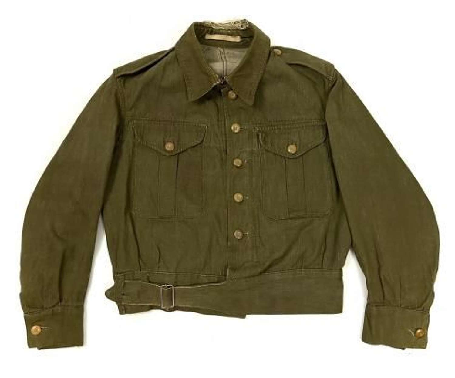 Original Early WW2 British Army Denim Battledress Blouse