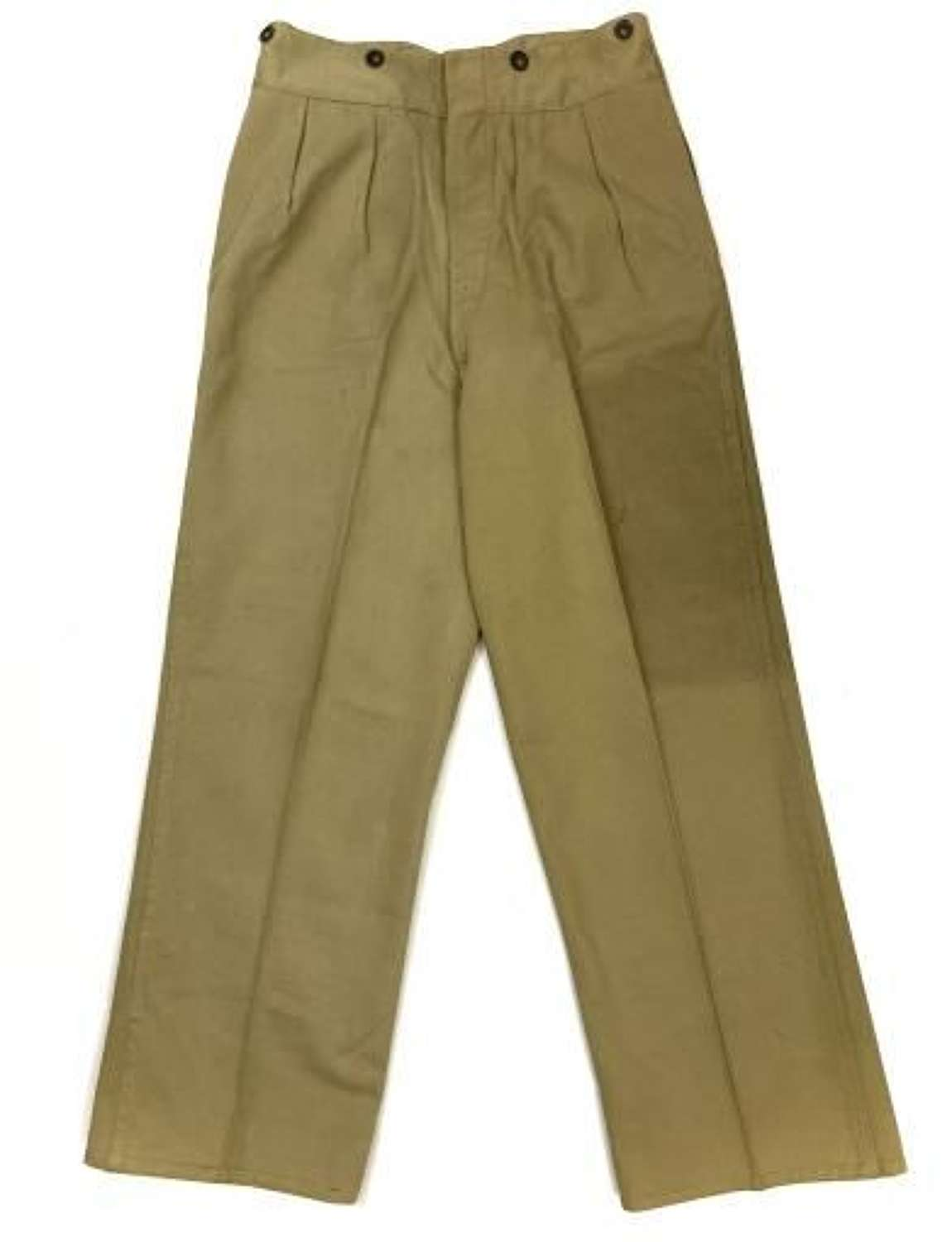 Original 1941 Dated Indian Made Khaki Drill Trousers