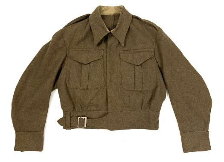 Original 1942 Dated British Army Battledress Blouse - Size 6