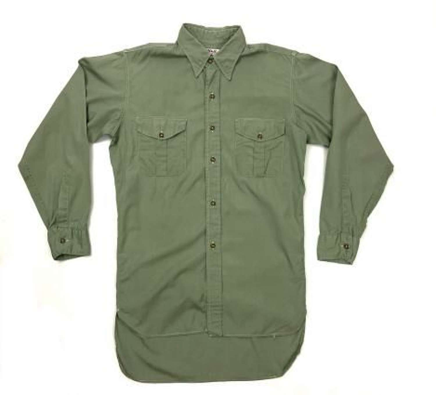 Original British Army Officers Shirt by 'Alkit'