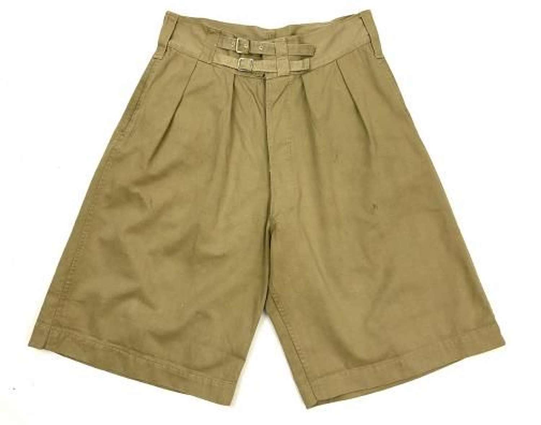 Original 1944 Dated 1941 Pattern British Khaki Drill Shorts