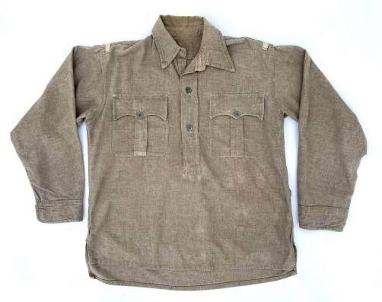 Original WW2 Indian Made British Army Wool Jungle Shirt