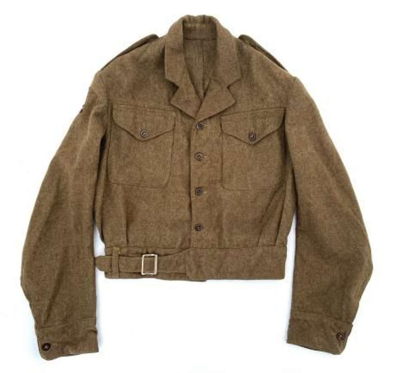 Original 1944 Dated 1940 Pattern 30 Corps Officers Battledress Blouse