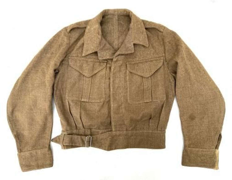 Original Early WW2 British Army Battledress Serge Blouse