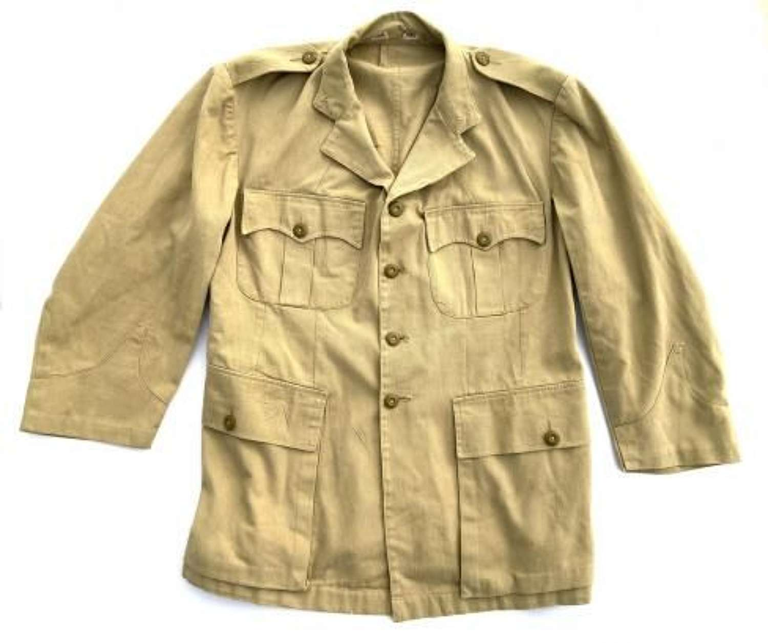 Original 1940s British Officers Khaki Drill Tunic