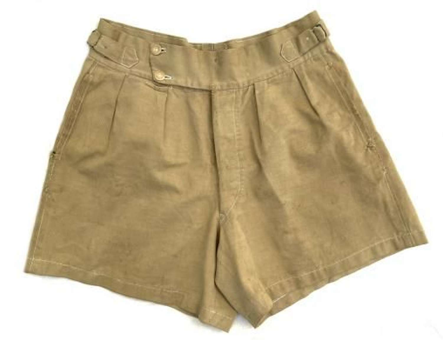 Original WW2 Khaki Drill Shorts