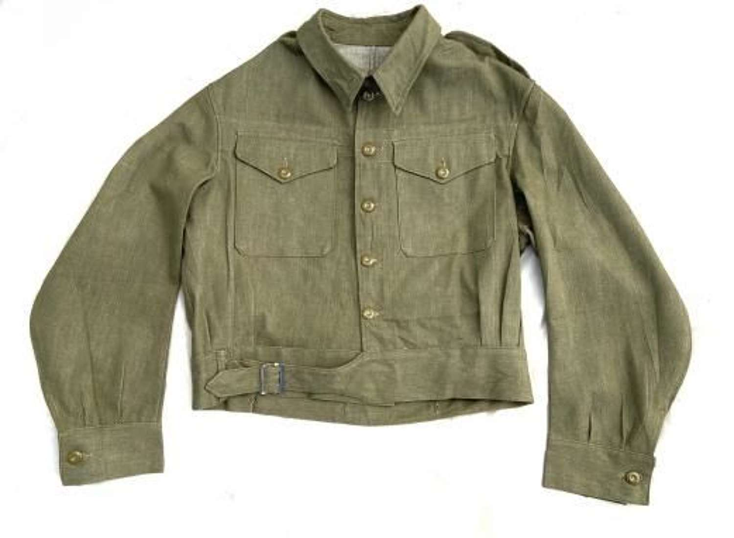 Original 1954 Dated British Army Denim Battledress Blouse