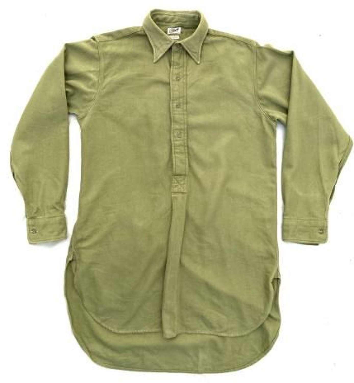 Original WW2 British Army Officers Shirt by 'R.W. Forsyth Ltd'.