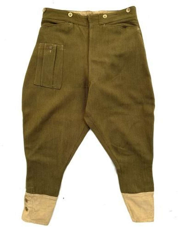 Original 1941 Dated British Army Dispatch Riders Breeches