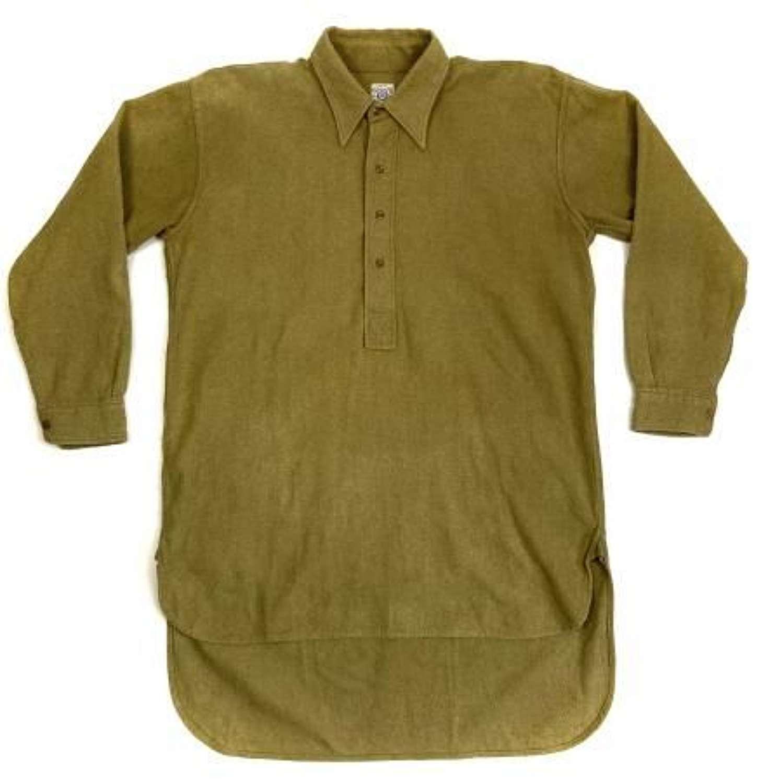 Original WW2 British Army Officers Shirt by 'Medico' - Size 16 1/2