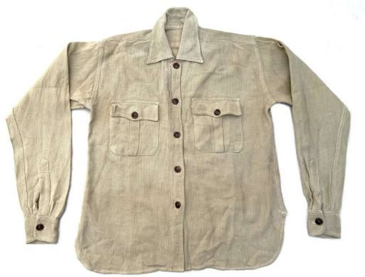 Rare Early War ATS Khaki Drill 'Aertex' Blouse