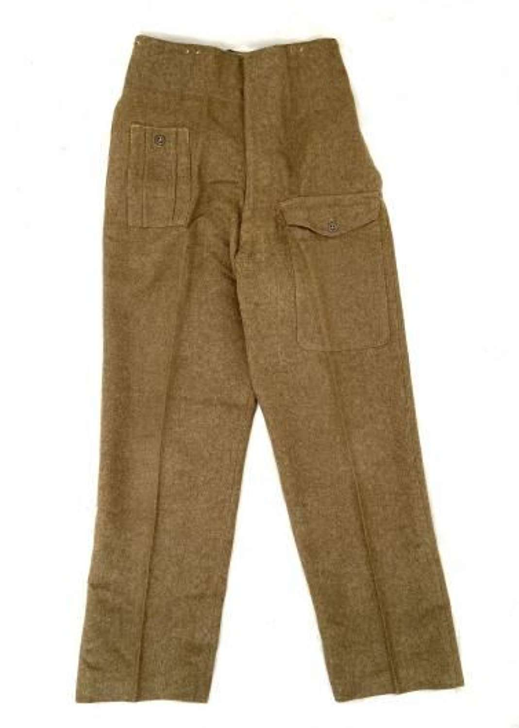 Original 1946 Dated British Army 1940 Pattern Trousers