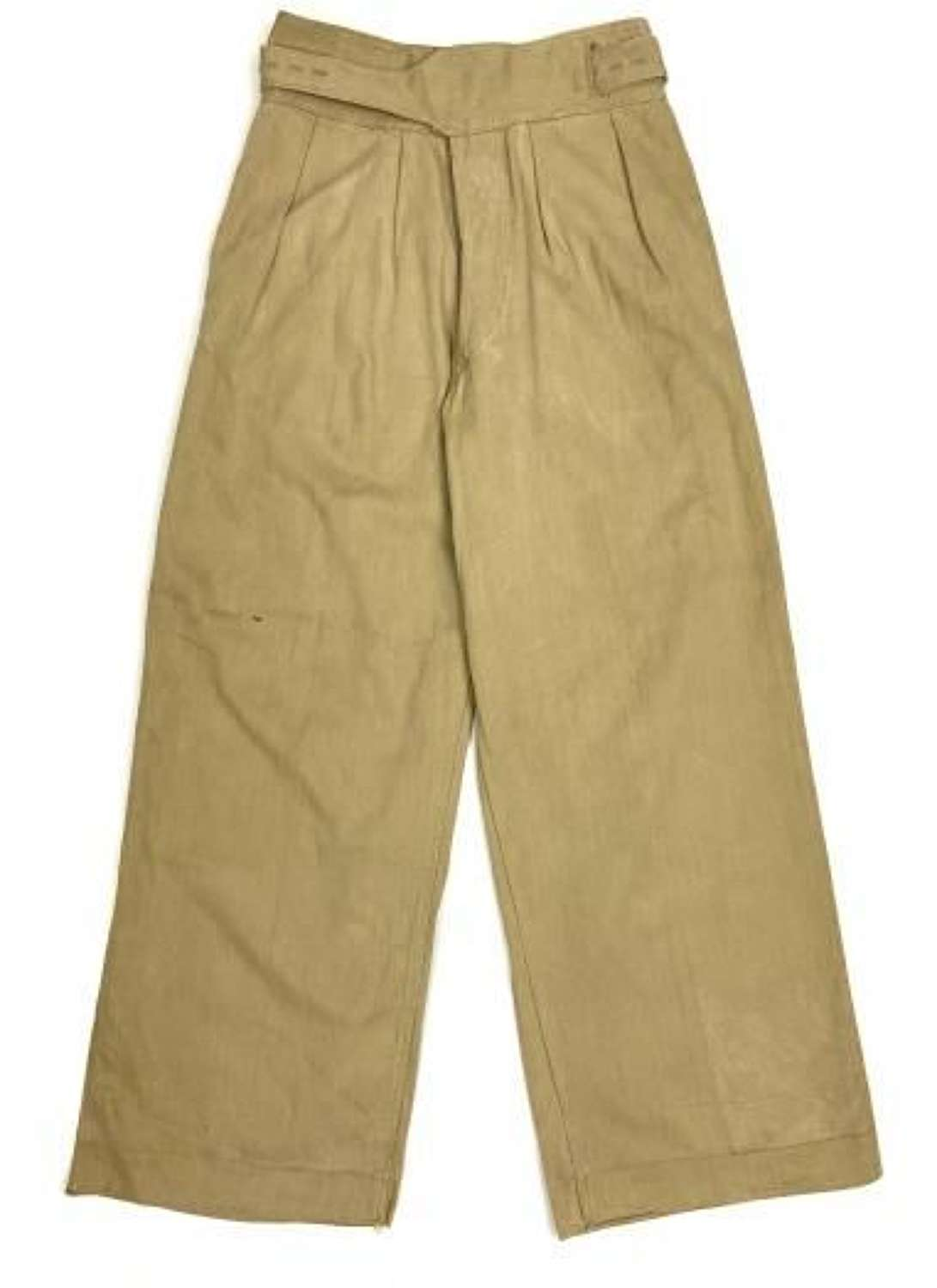 Original 1944 Dated Indian Made Khaki Drill Trousers