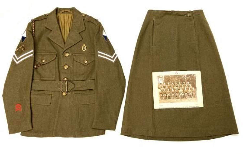 Original WW2 ATS Uniform Grouping to Corporal Jean Bewick