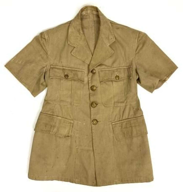 Original 1942 Dated British Army Khaki Drill Tunic