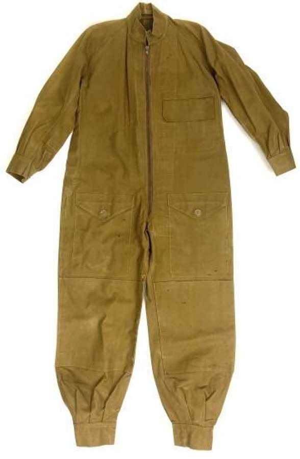 Scarce 1945 Dated Waterproof Combination Suit