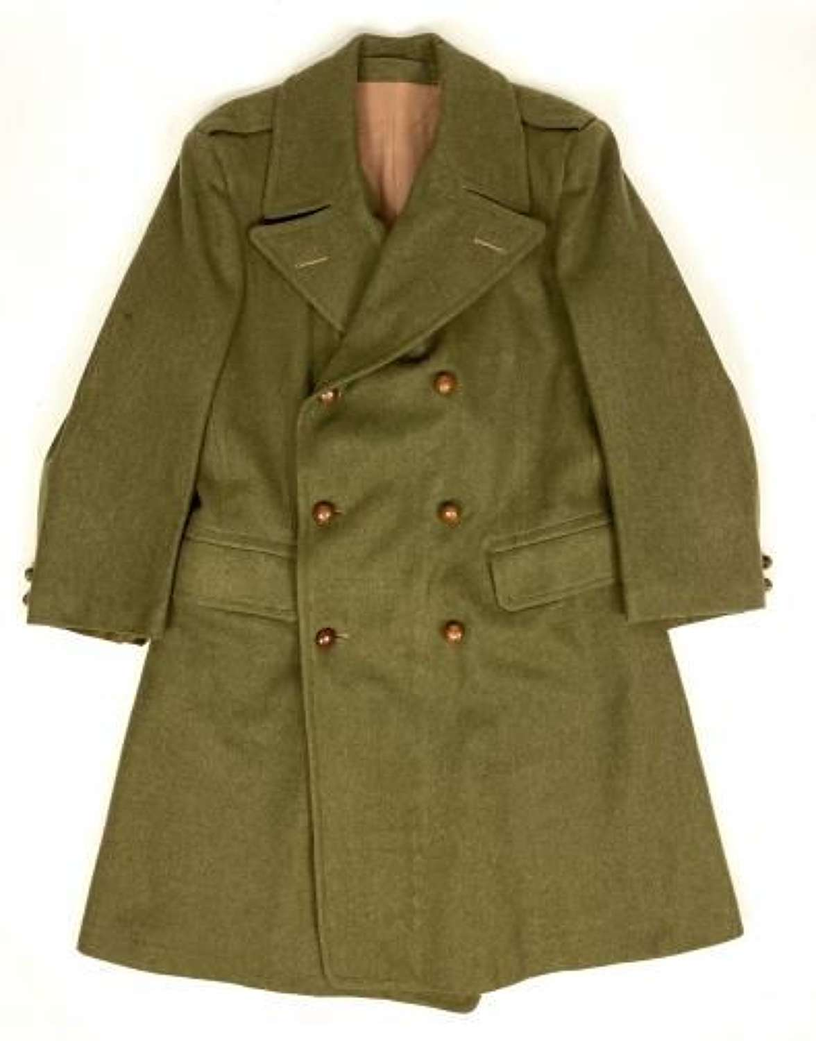 Original 1945 Dated 'Coat, British Warm'