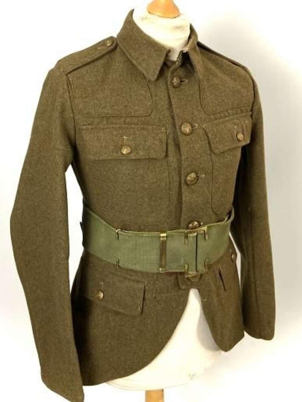 Original 1943 Dated Scottish Cut Away Service Dress Tunic
