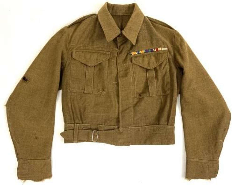 Original 1940 Dated Early WW2 'Battledress, Serge' Blouse