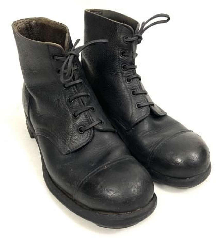 Original 1943 Dated British Army Ammunition Boots by 'B.G'