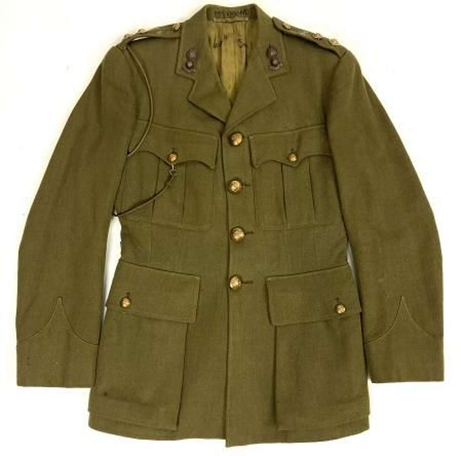 Original WW2 Royal Engineers Officers Service Dress Tunic
