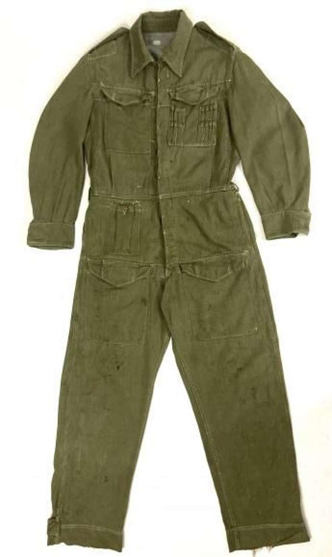 Original British Army Denim Tank Suit