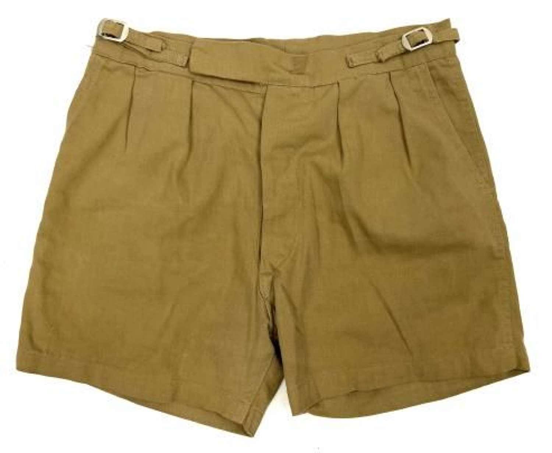 Original British Khaki Drill Shorts