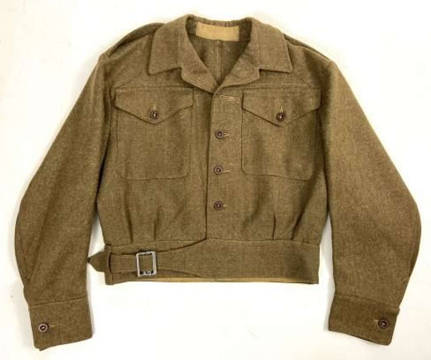 Original WW2 British Army 1940 Pattern (Austerity) Battledress Blouse