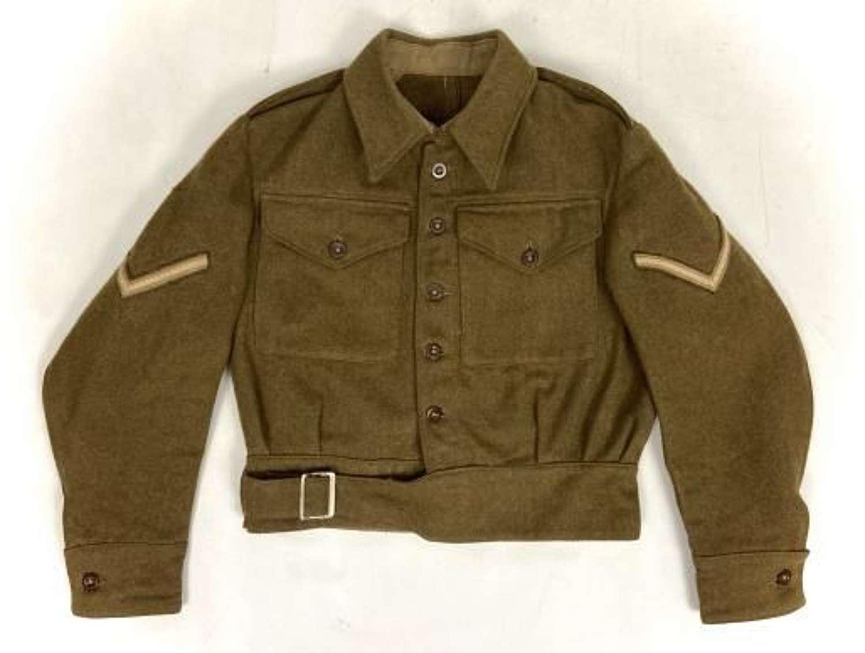 Original 1942 Dated 1940 Pattern Battledress Blouse - Size 3 / 4