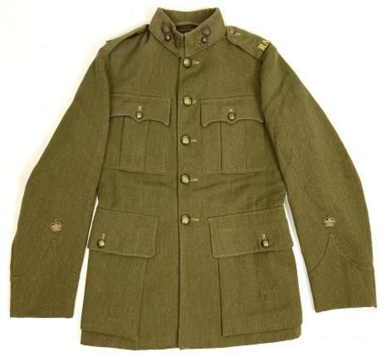 Rare Original 1937/8 Dated Warrant Officers Service Dress Tunic