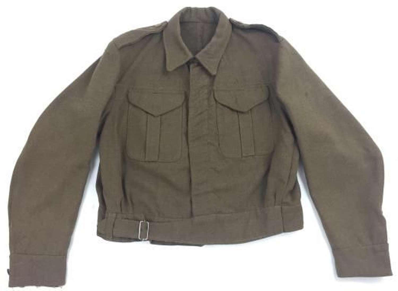 Original 1939 Dated British Army Battledress Serge Blouse - Large size