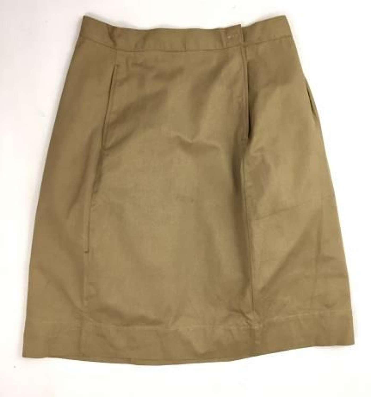 Original WW2 Women's Khaki Drill Skirt
