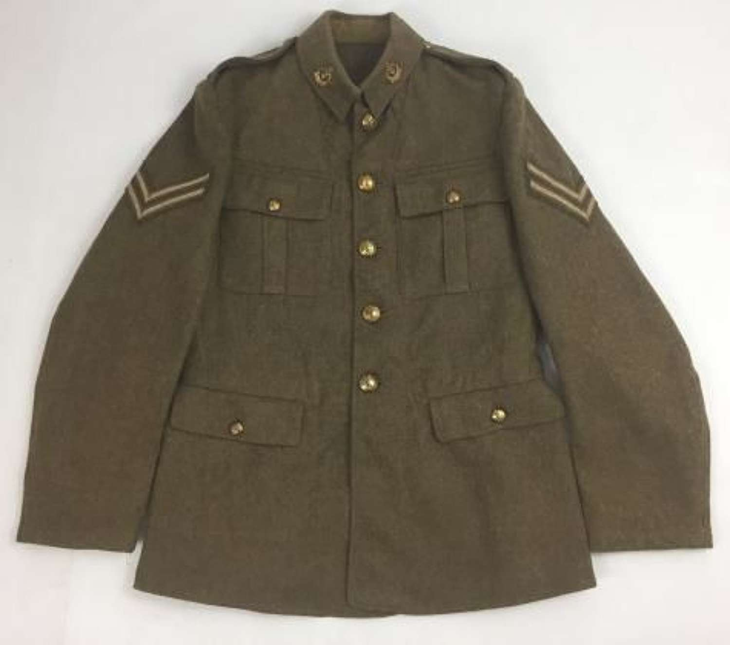 Original 1922 Pattern Ordinary Ranks Tunic to Cpl H Watmore, 43rd Wessex Div.
