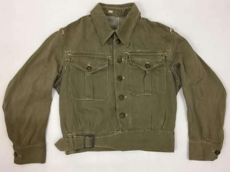 Original First Pattern British Denim Battledress Blouse