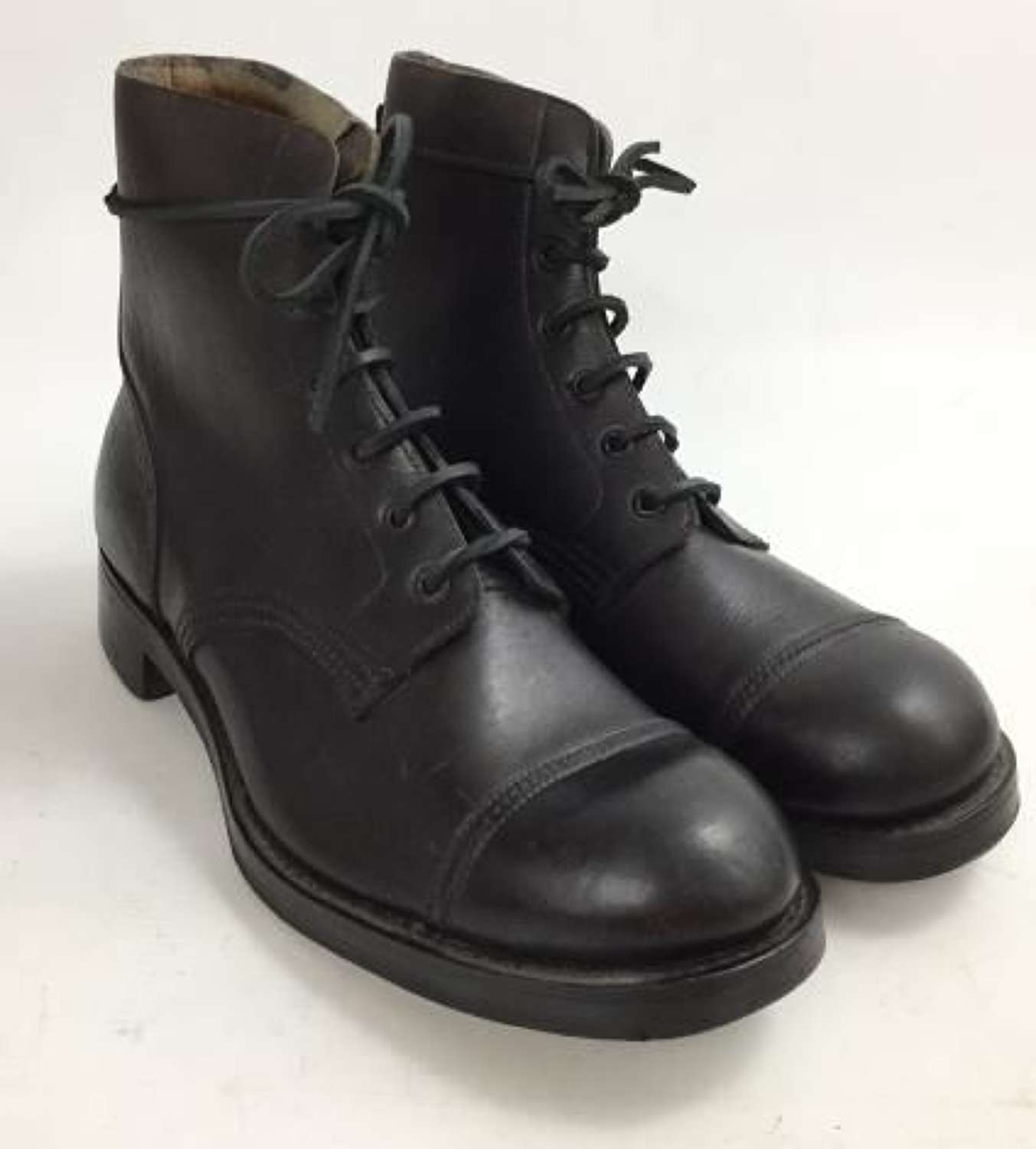 Original 1945 Dated Boots by 'Crockett & Jones' - Size 9