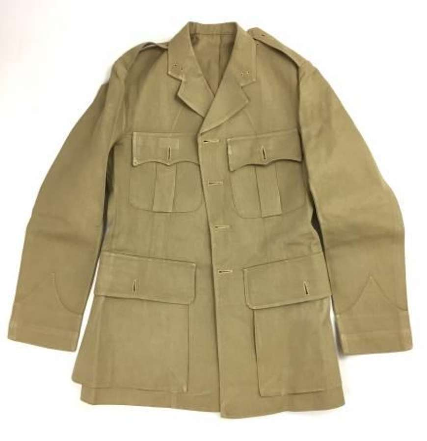 Original Inter-war Period British Officers Khaki Drill Tunic