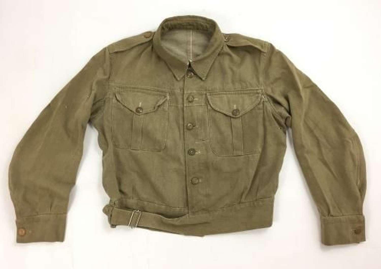 Original Early WW2 British Army Denim Battledress Bloue (2)