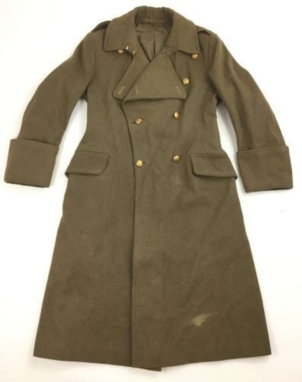 Original WW2 British Army Officers Greatcoat