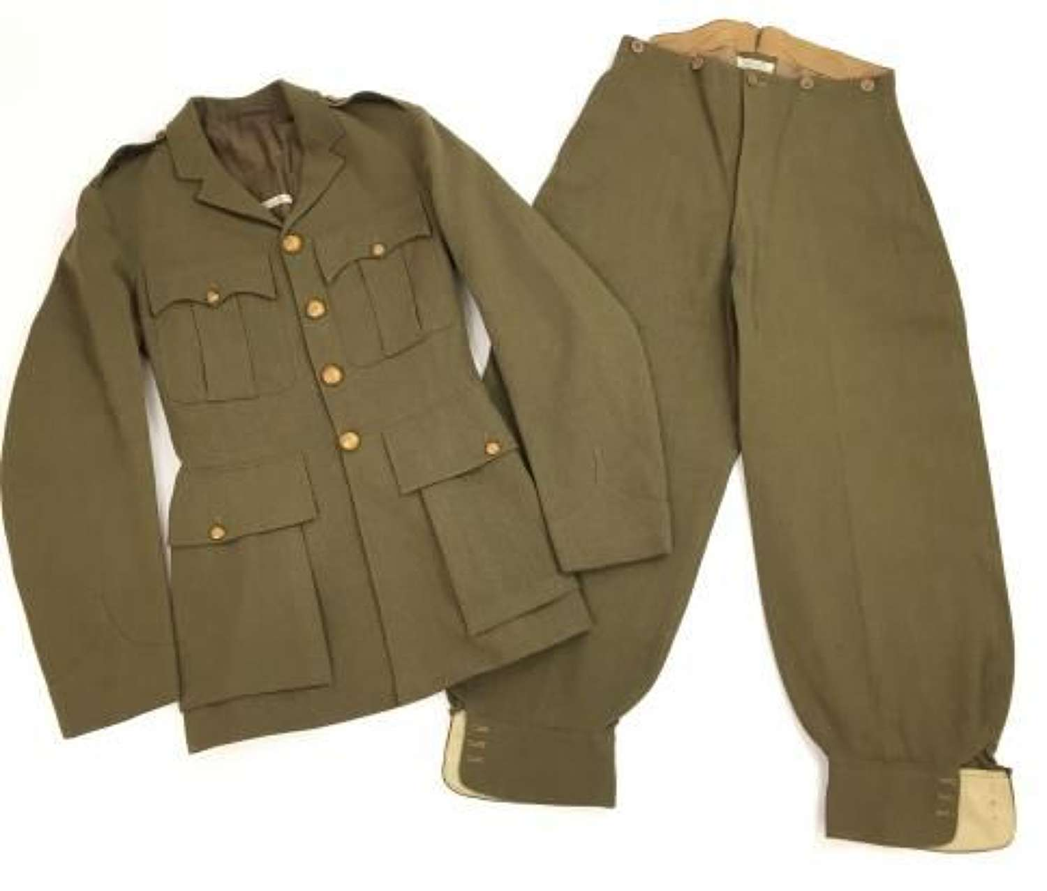 Original 1930s Officers Uniform with BEF and Dunkirk History