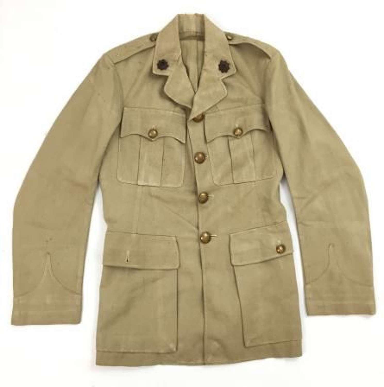 Original WW2 RASC Officers Khaki Drill Service Dress Tunic