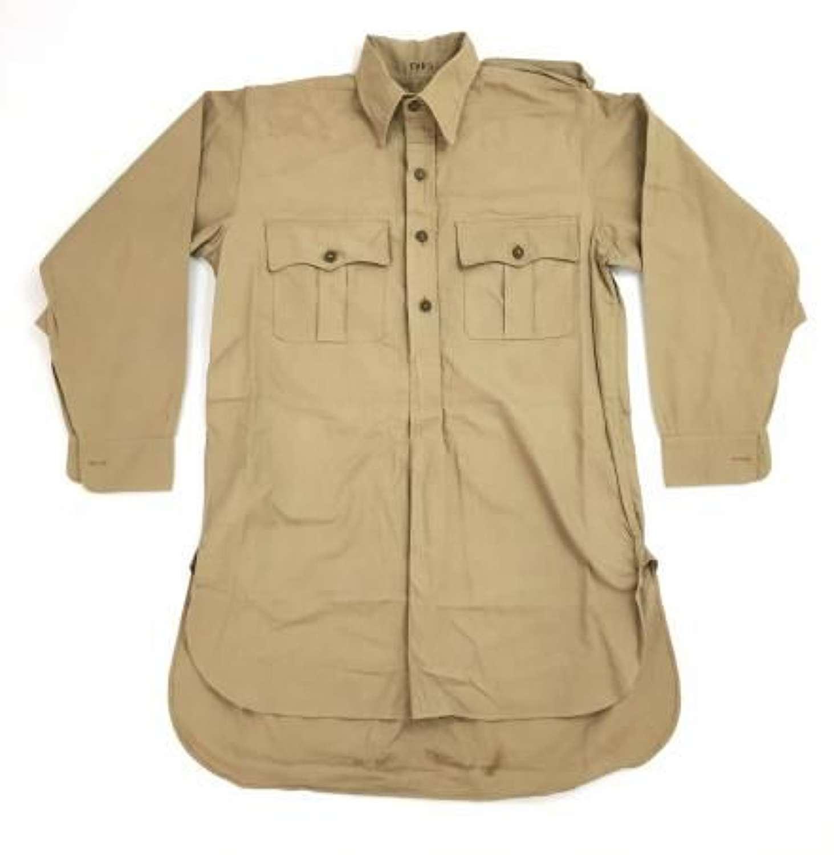 Original WW2 British Khaki Drill Shirt